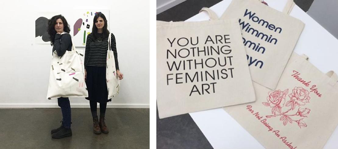 Kate Towers mega totes// Modern Women totes from LA based Sarah Gottesdiener