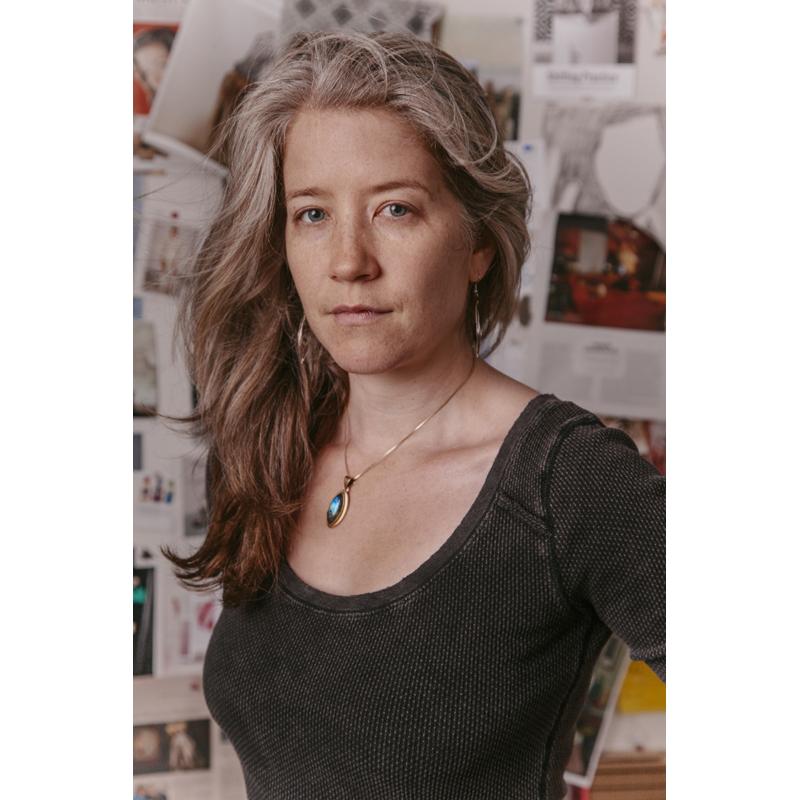 Elizabeth in her studio. Photograph by Gia Goodrich
