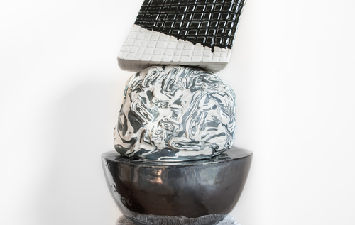 Details of new sculptures by Emily Counts