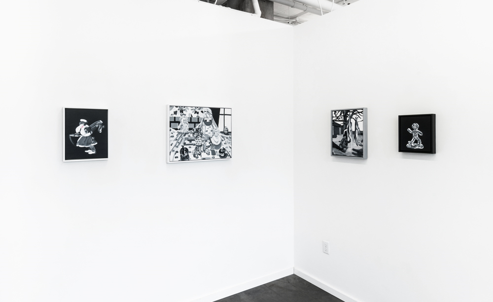 Installation view of  Stupid Man , on view through June 20, 2016