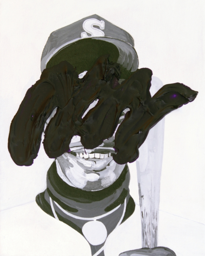 """The Kid , 2015, acrylic on canvas, 10 x 8"""""""