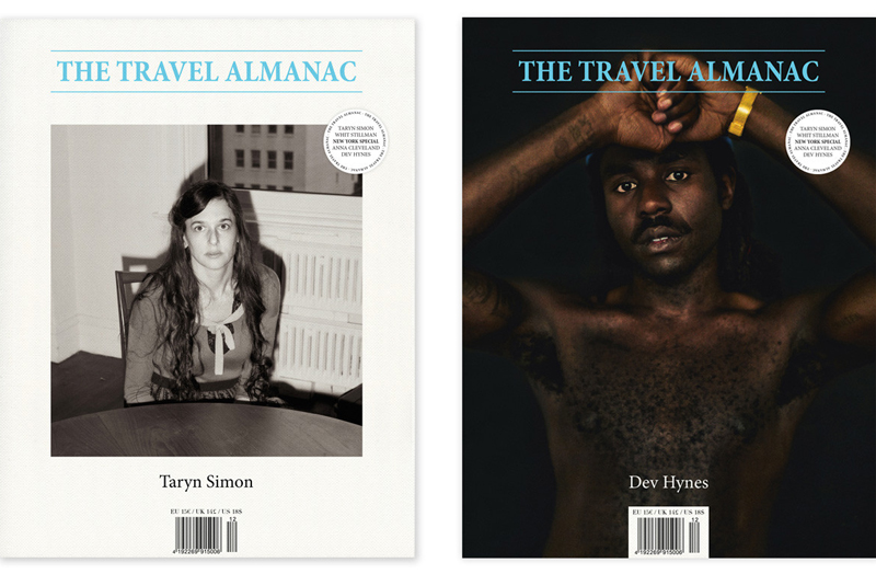 The Travel Almanac, Issue #12. We didn't know which cover to choose so we got both!