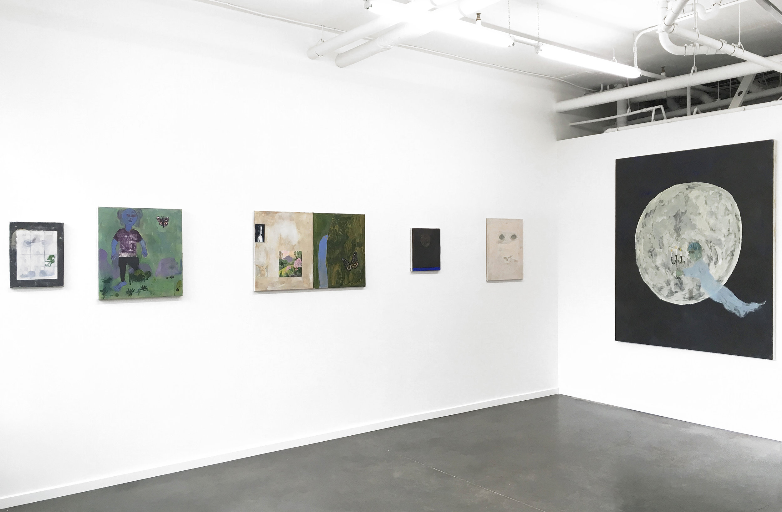 Jake Manning's  Guests of Space  is on view through April 17, 2018