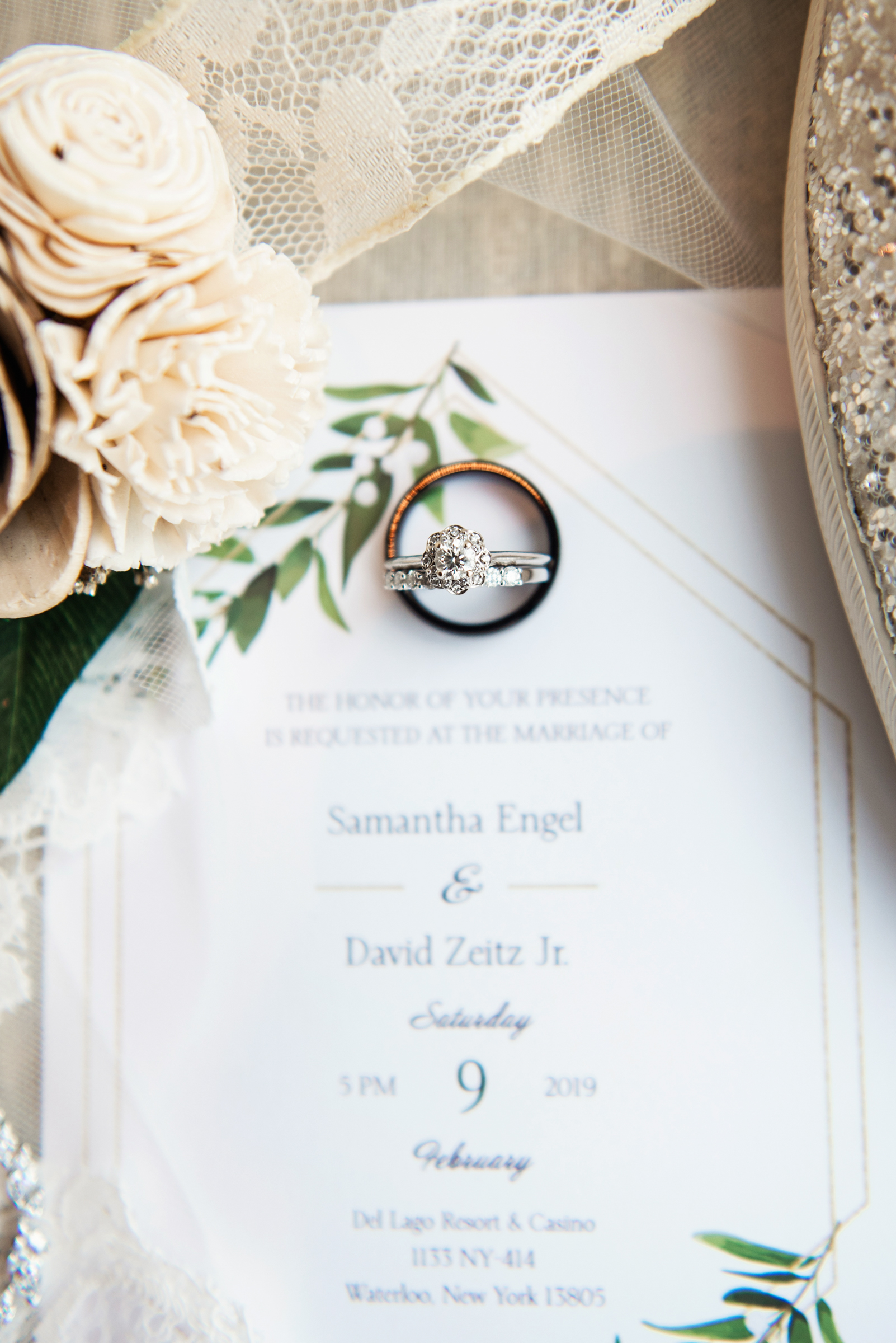 Del Lago Resort & Casino - Finger Lakes Wedding | David +