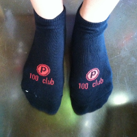 PB socks look like this!