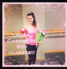 Congratulations Laura!!!