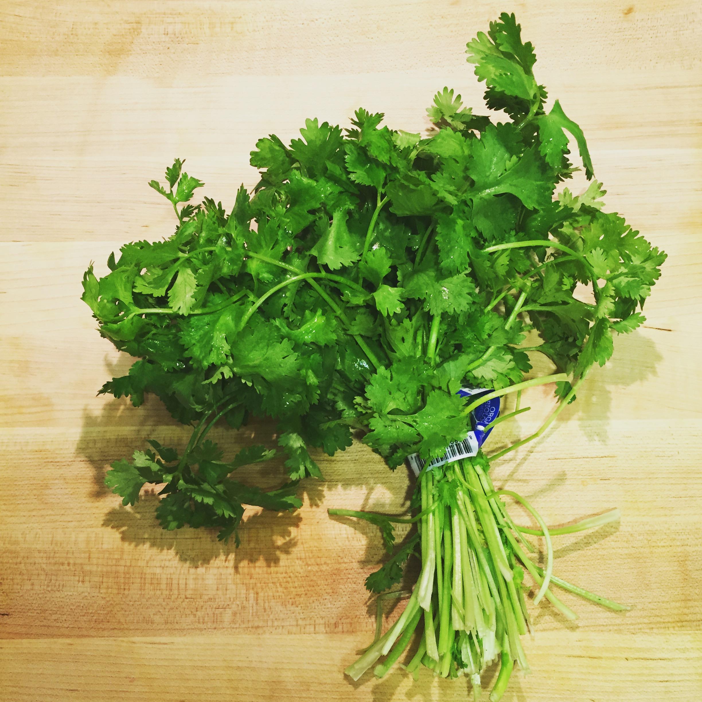 Me encanta el cilantro y lo trato de usar lo mas que pueda