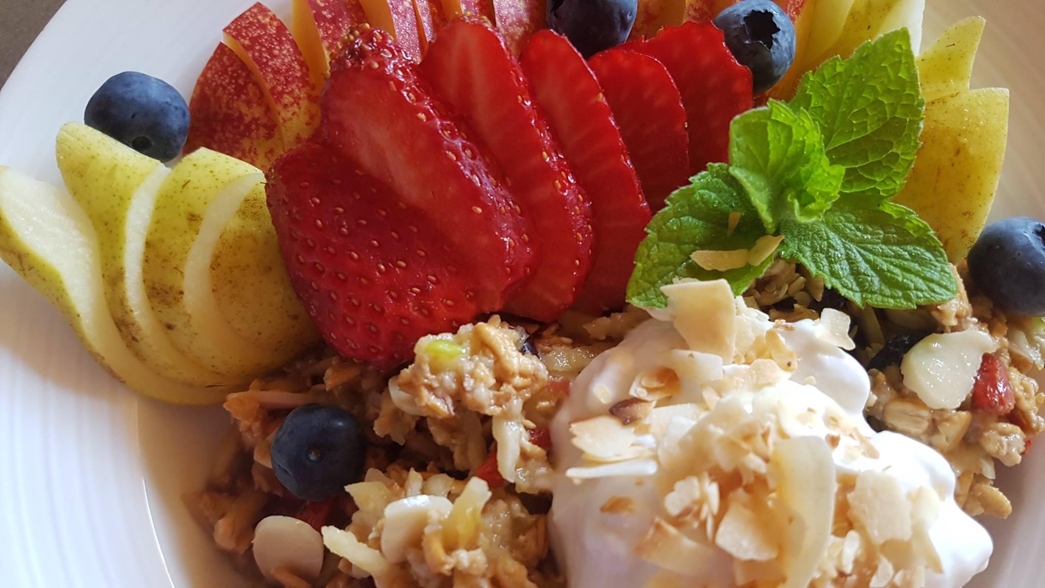 Vegan Plant Based Bircher Muesli at HideAway Haven