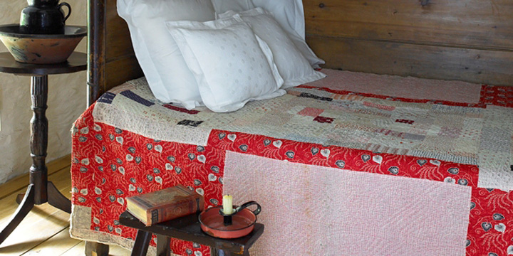 Welsh box bed.