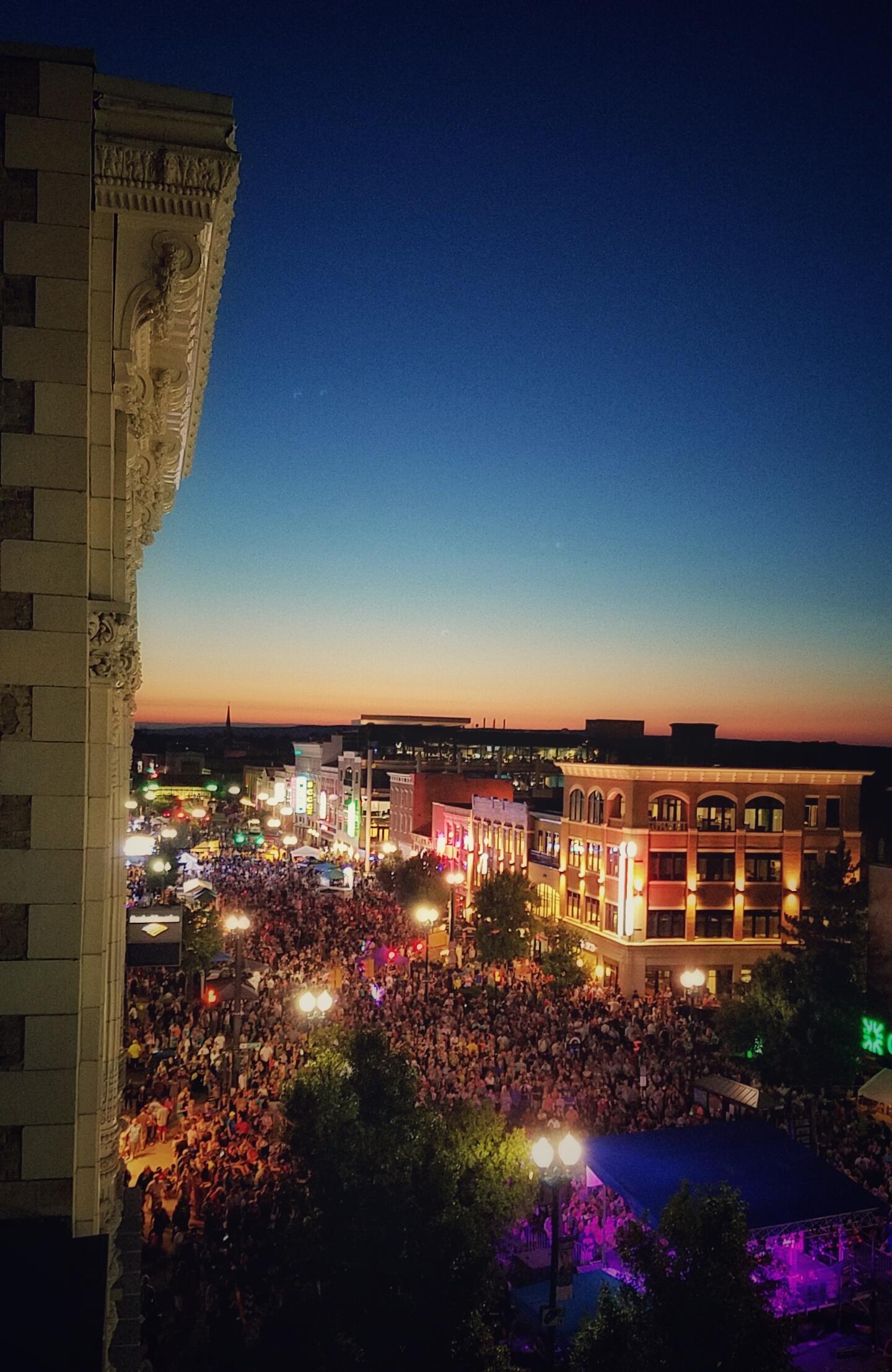 The Foster, Schenectady Summer Night