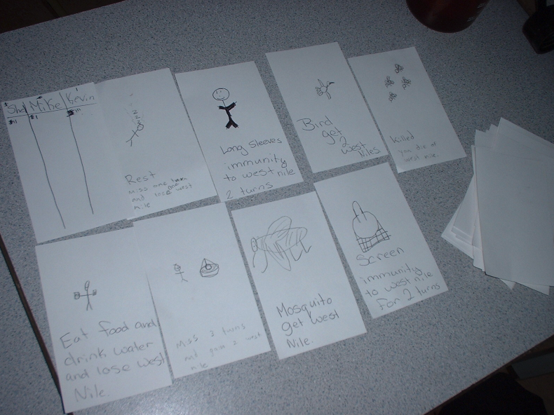 Card sorting participant design exercise with children