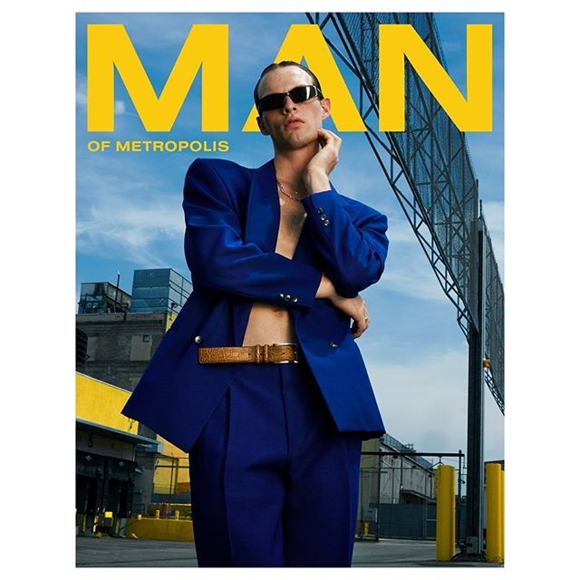 Cover story for @manofmetropolis with Rocky at @imgmodels  Styling: @hotbasement  Grooming: @junyahair  Casting: @cano_castings  Assistant: @michaelvvel
