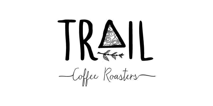 The original Trail Coffee Roasters logo.
