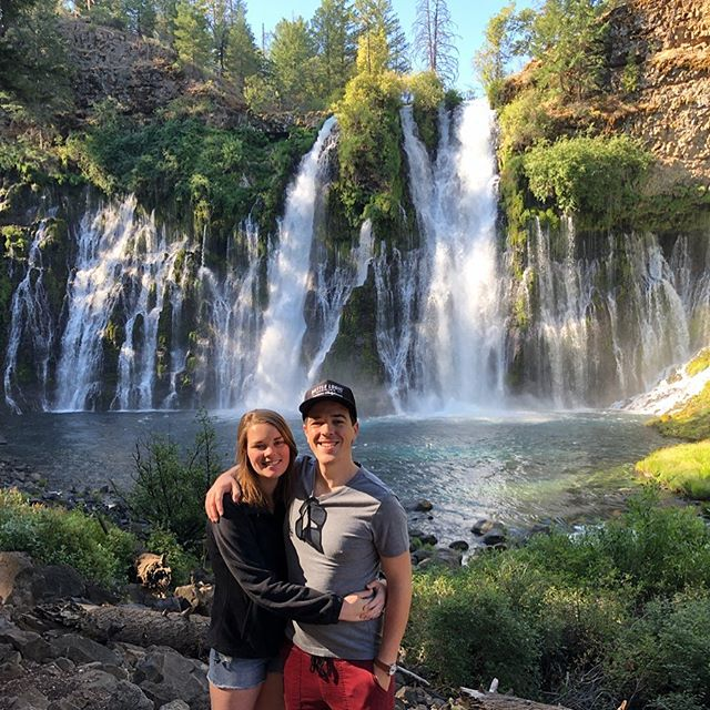 You guys. This is real life. Surprise birthday trip with my amazing wife pt I: Burney Falls.