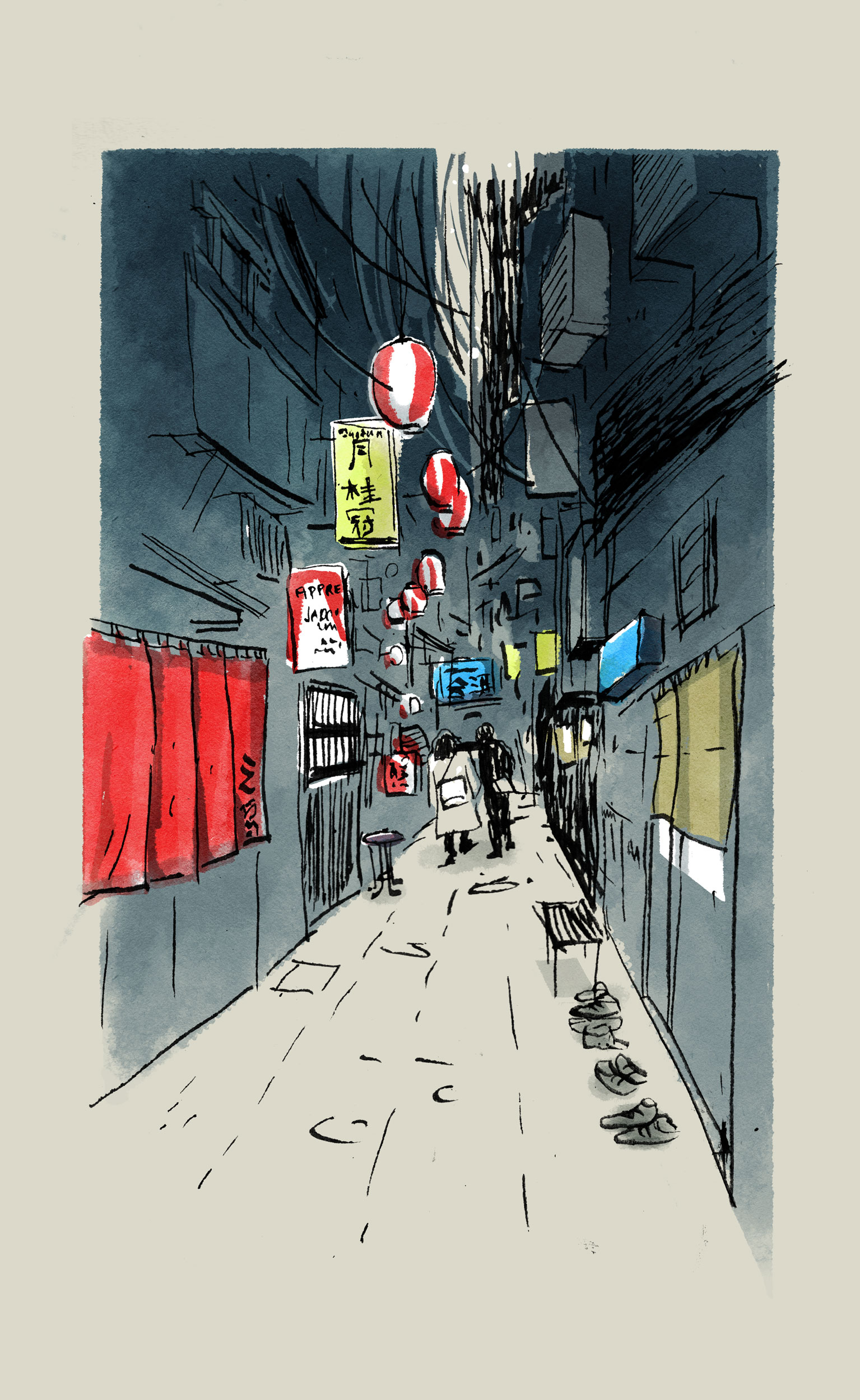 Nonbei Yokocho is a charming narrow street filled with small bars