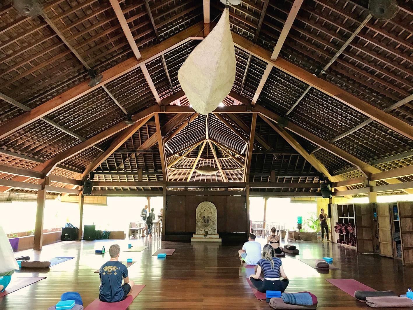 The Yoga Barn, Ubud