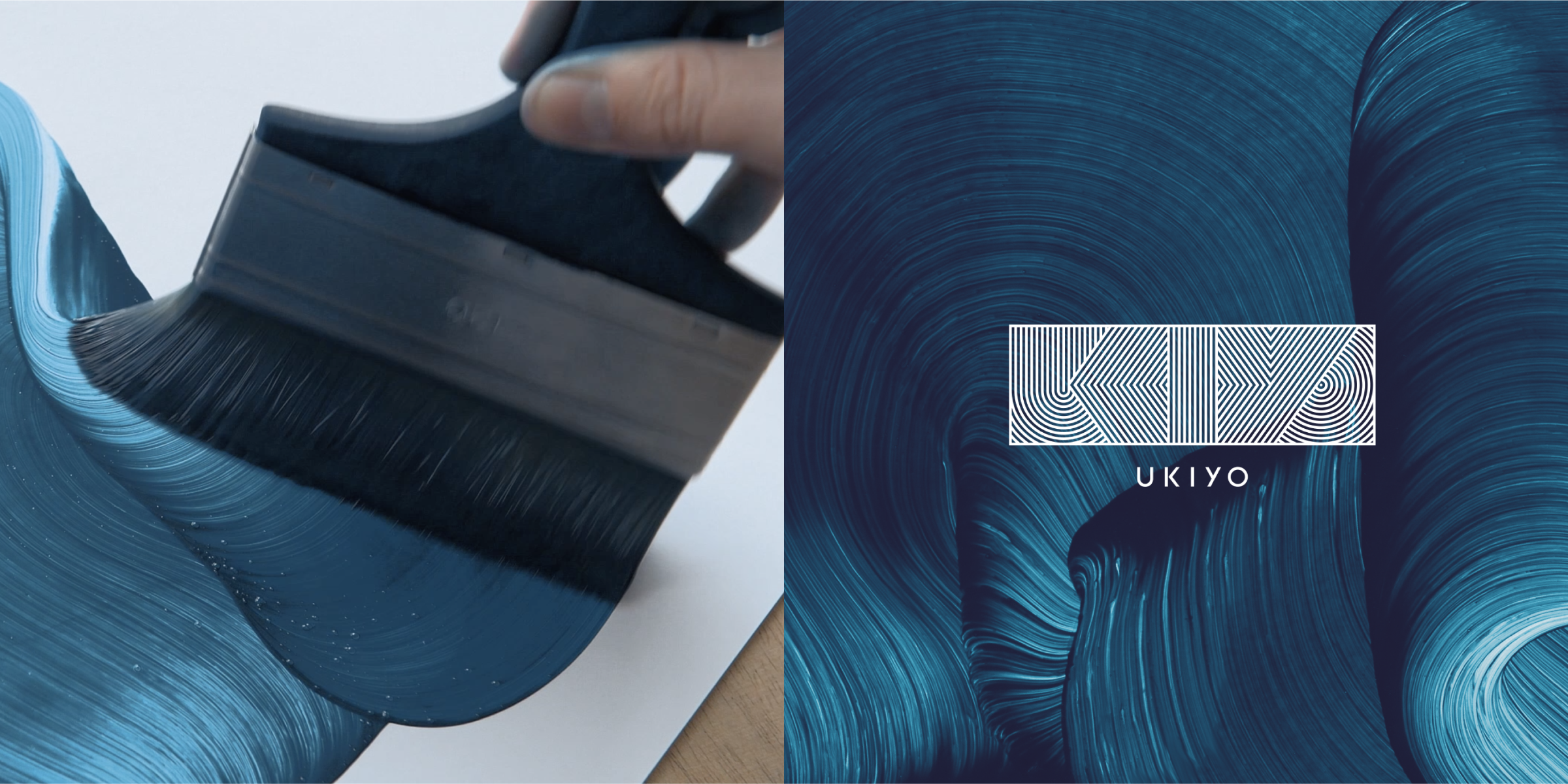 UKIYO Brandworld - Oil Paint on Gloss by Hawk & Handsaw