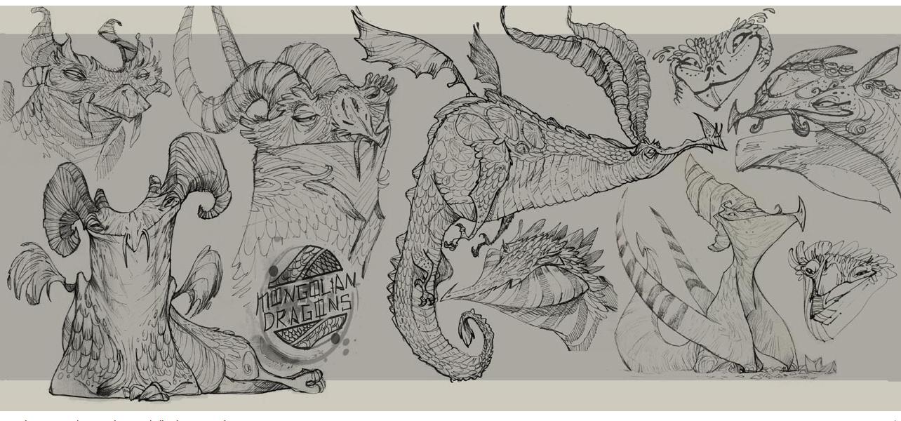 Benjamin Hayte - Mongolian Dragons