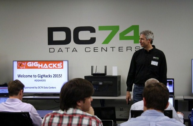 Thank you to our Charlotte GigHacks host and sponsor DC74 Data Centers.