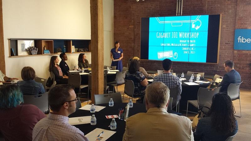Christa Wagner Vinson presents the NC Hearts Gigabit story