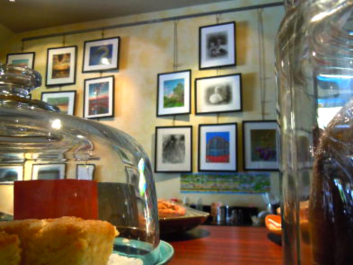 The Coffee Nut is one of several business in Long Beach NY that display the work of local artists and photographers. (Photo: Joseph Kellard)