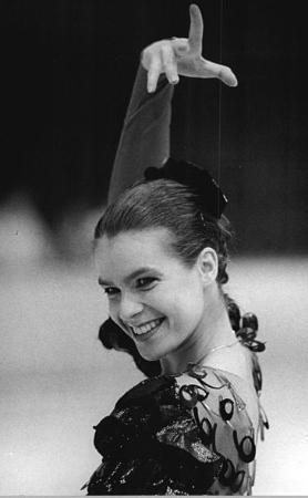 Katarina Witt. (Credit: Wikicommons)