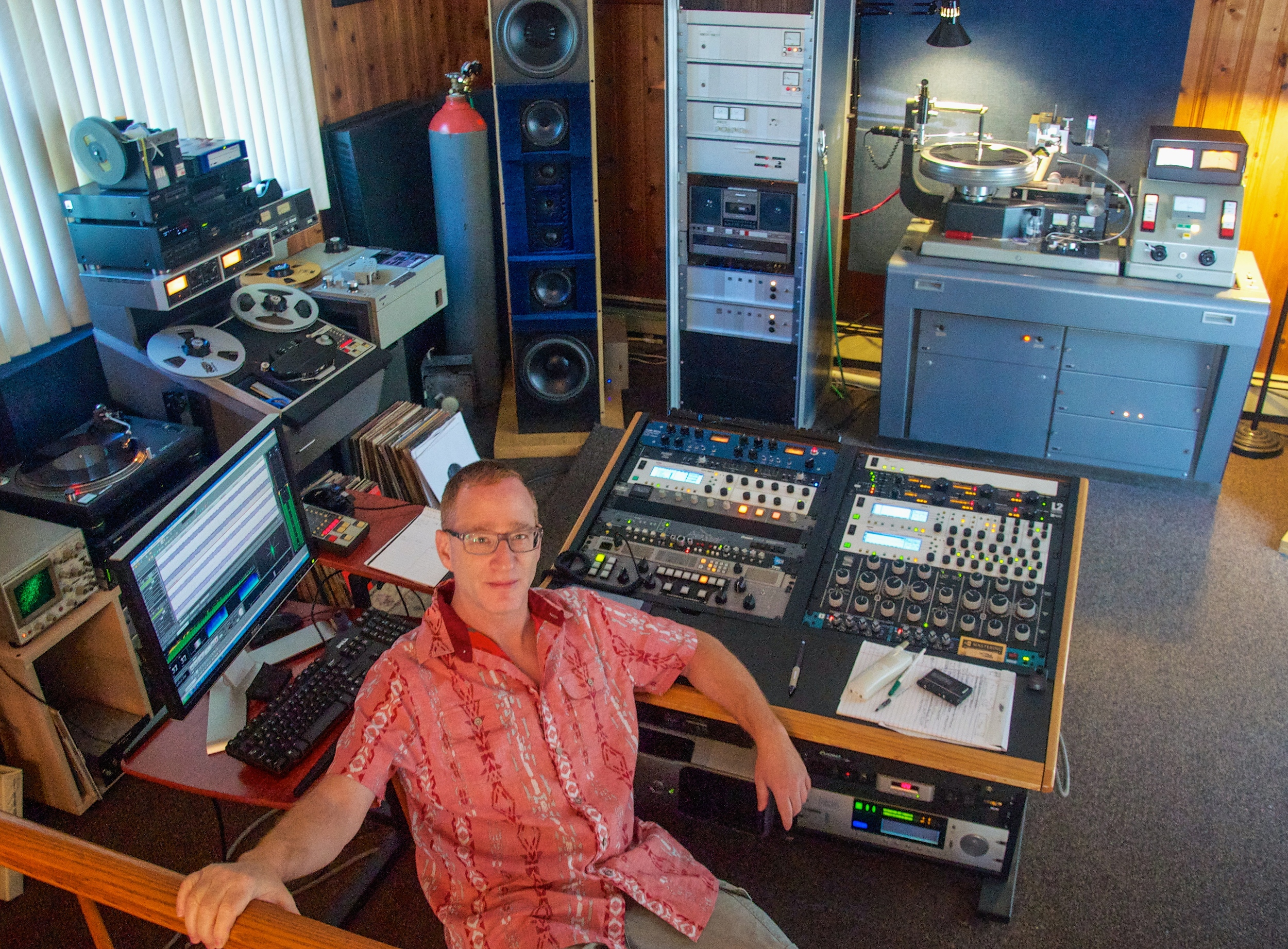 When Alex Abrash was house hunting in 2010, he needed a home with a space where he could operate his CD mastering business, AA Mastering.  READ MORE