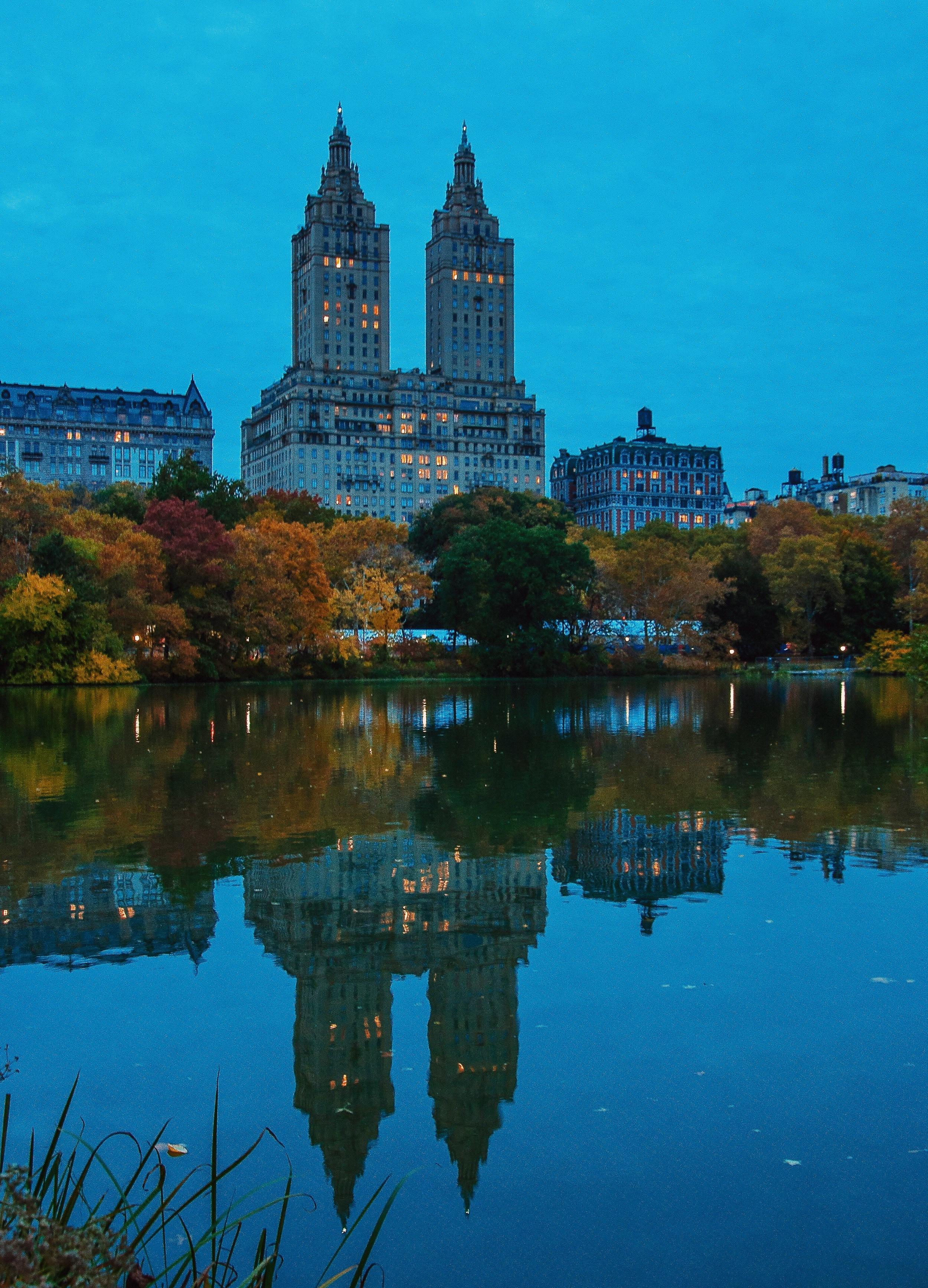 @ @ @ San Remo & Central Park_The Lake_reflection copy.JPG