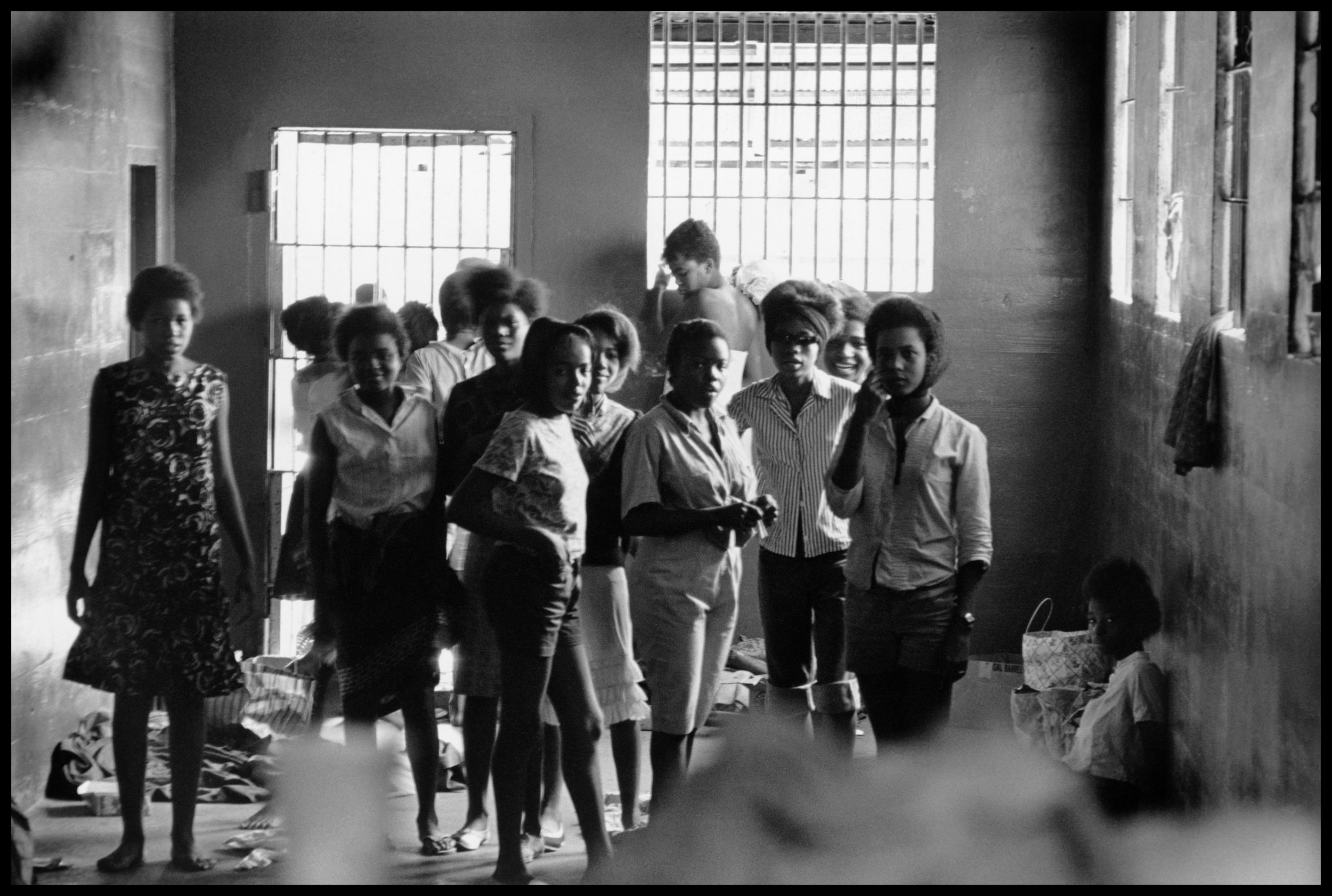 (Women held in prison without charges in Leesburg, Georgia, in 1963. (© Danny Lyon, New York & Magnum Photos, New York / Courtesy Edwynn Houk Gallery, New York.)   A photo in the exhibit Danny Lyon: Memories of the Southern Civil Rights Movement at  Hofstra Museum  perfectly captures the best element of that cause.  READ MORE