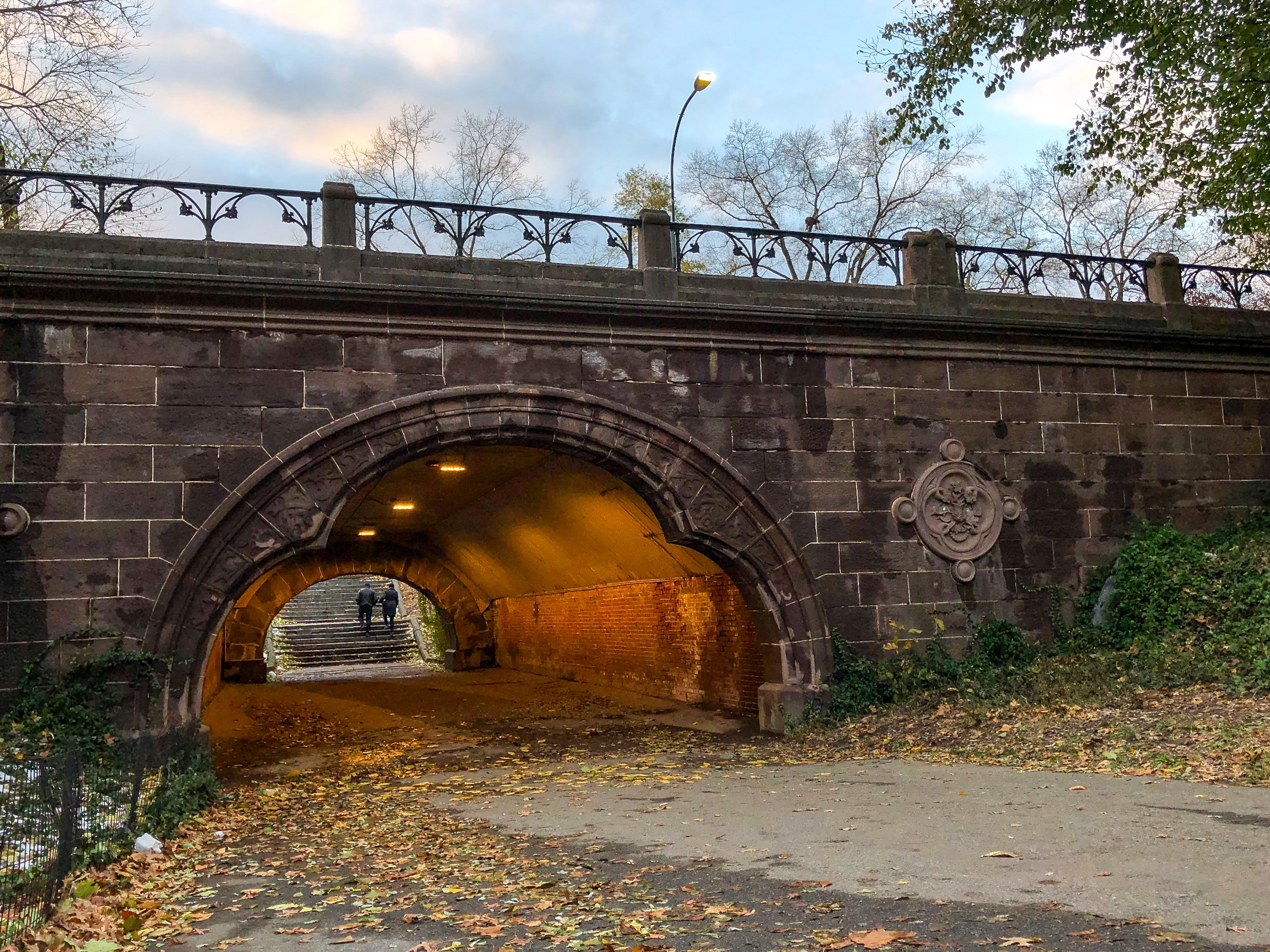 @ Trefoil Arch_autumn trees_Central Park.jpg