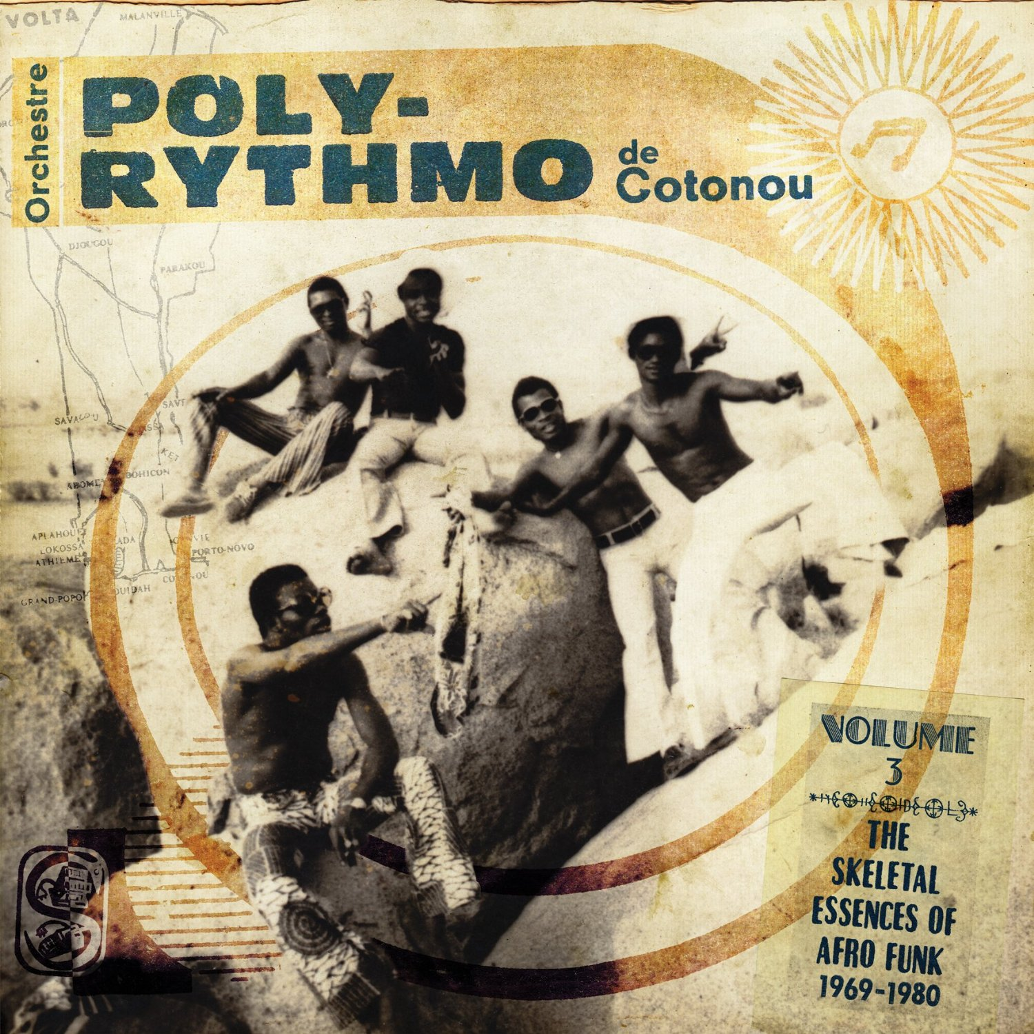 Orchestre Poly-Rythmo Vol 3: The Skeletal Essences of Afro Funk 1969-1980  Release Date: May 14, 2013 Label: Analog Africa  SERVICE: Restoration, Mastering SOURCE MATERIAL: 45 rpm records NUMBER OF DISCS: 1 GENRE: Afro-Beat FORMAT: CD and LP