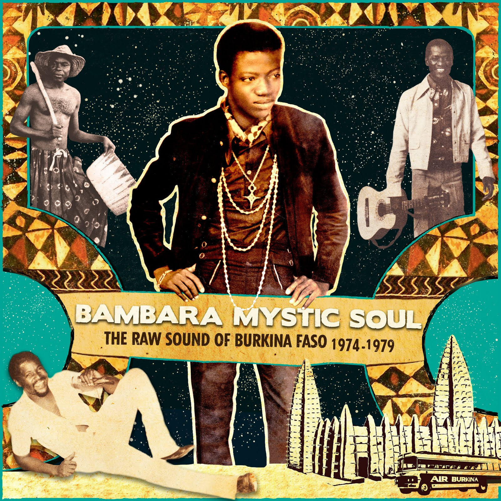 Bambara Mystic Soul - The Raw Sound ofBurkina Faso 1974-1979  Release Date: October 10, 2011 Label: Analog Africa  SERVICE: Restoration, Mastering SOURCE MATERIAL: LP and 45 rpm records NUMBER OF DISCS: 1CD, 2 LP GENRE: Afro-Beat FORMAT: CD and LP