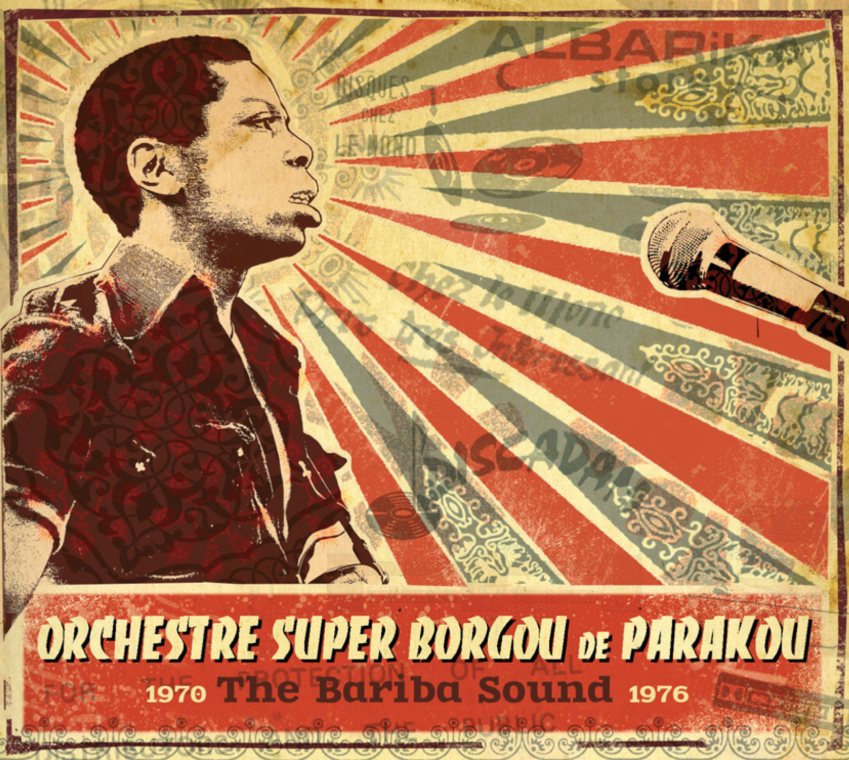 Orchestre Super Borgou de Parakou: The Bariba Sound  Release Date: March 26, 2012 Label: Analog Africa  SERVICE: Restoration, Mastering SOURCE MATERIAL: 45 rpm records NUMBER OF DISCS: 1CD, 2 LP GENRE: Afro-Beat FORMAT: CD and LP