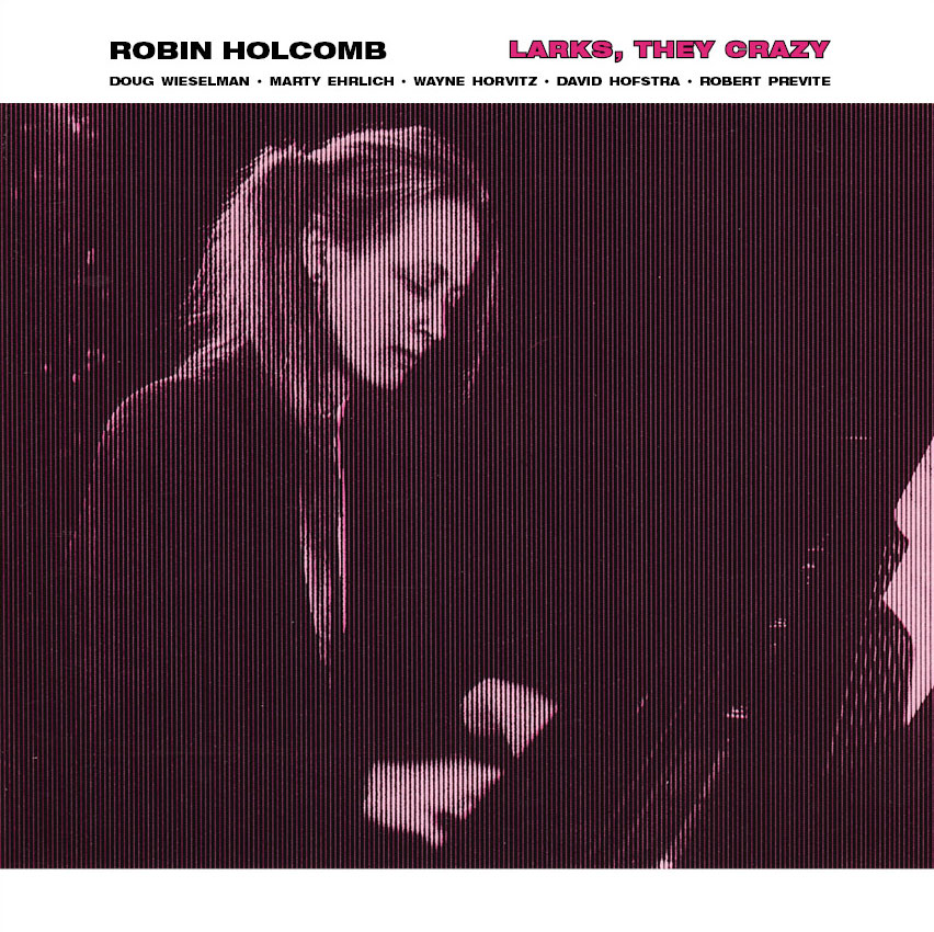 Robin Holcomb - Larks, They Crazy  Release Date: October 21, 2008 Label: Self Released  SERVICE: Transfer, Restoration, Mastering SOURCE MATERIAL: LP Record ORIGINAL RELEASE DATE: 1988 GENRE: Jazz/Avant Jazz FORMAT: CD