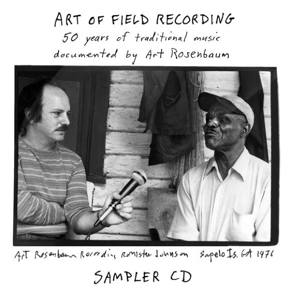 "Art of Field Recording: Sampler  Release Date: November 21, 2006 Label: Dust-to-Digital  SERVICE: Restoration, Mastering SOURCE MATERIAL: 1/4"" Tape NUMBER OF DISCS: 1 GENRE: Jazz, Blues, Gospel FORMAT: CD"