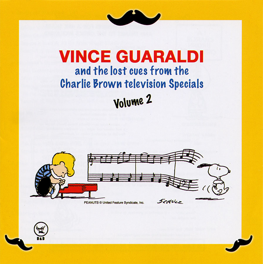 """Vince Guaraldi - The Lost Cues From The Charlie Brown Television Specials, Volume 2  Release Date: February 06, 2008 Label: D&D  SERVICE: Transfer, Restoration SOURCE MATERIAL: 1/4"""" Tape NUMBER OF DISCS: 1 GENRE: Jazz FORMAT: CD"""