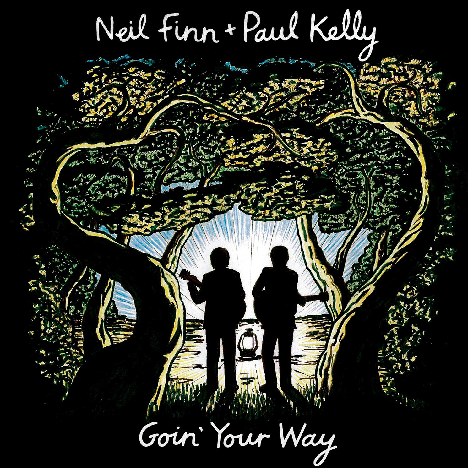 Neil Finn + Paul Kelly - Goin' Your Way  Release Date: December 11, 2015 Label: Omnivore Recordings  SERVICE: Mastering NUMBER OF DISCS: 1 GENRE: Rock FORMAT: CD   TRAILER