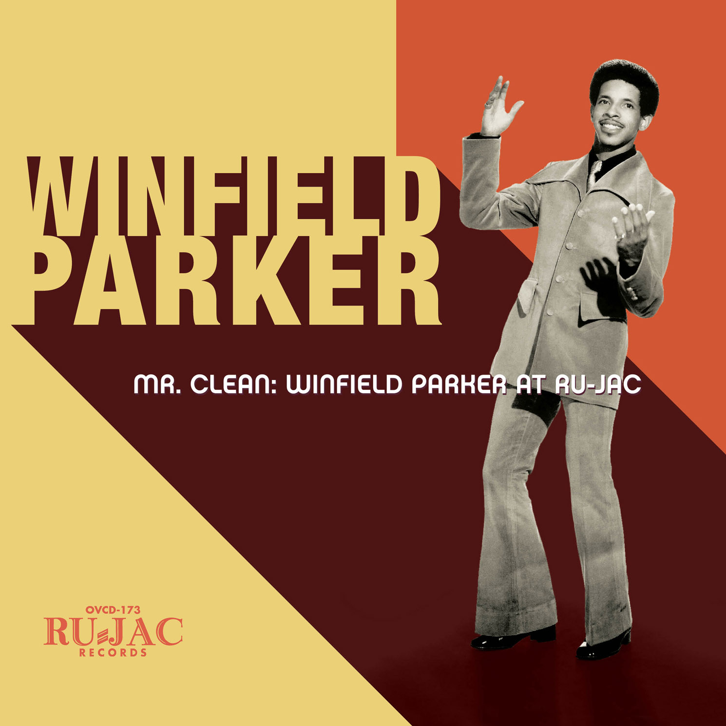 Winfield Parker - Mr. Clean: Winfield Parker at Ru-Jac  Release Date: March 25, 2016 Label: Omnivore Recordings  SERVICE: Restoration, Mastering NUMBER OF DISCS: 1 GENRE: Soul FORMAT: CD   TRAILER