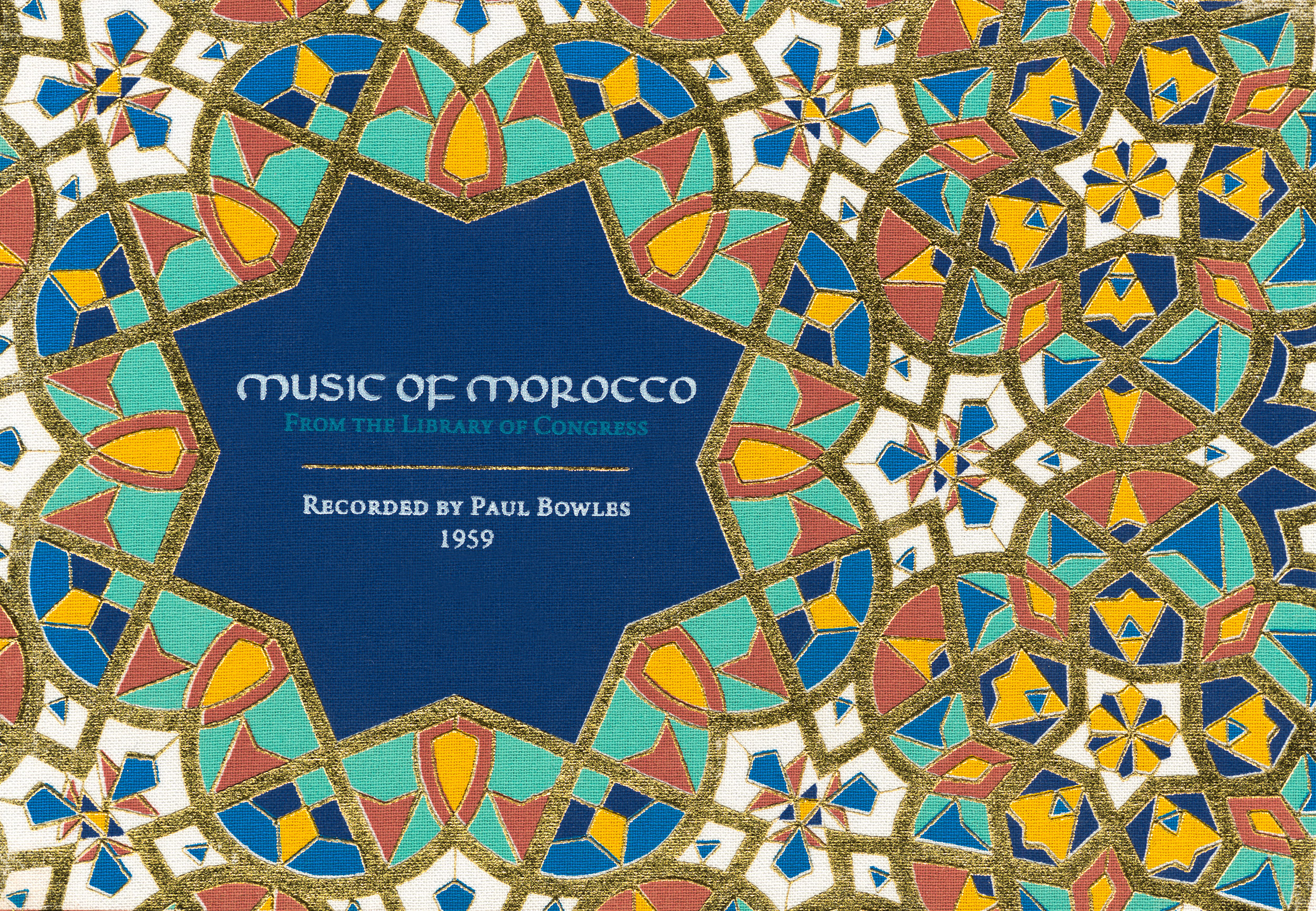 """Music of Morocco: Recorded by Paul Bowles  Release Date: April 1, 2016 Label: Dust-to-Digital  SERVICE: Restoration, Mastering SOURCE MATERIAL: 1/4"""" tape NUMBER OF DISCS: 4 GENRE: Moroccan FORMAT: CD"""