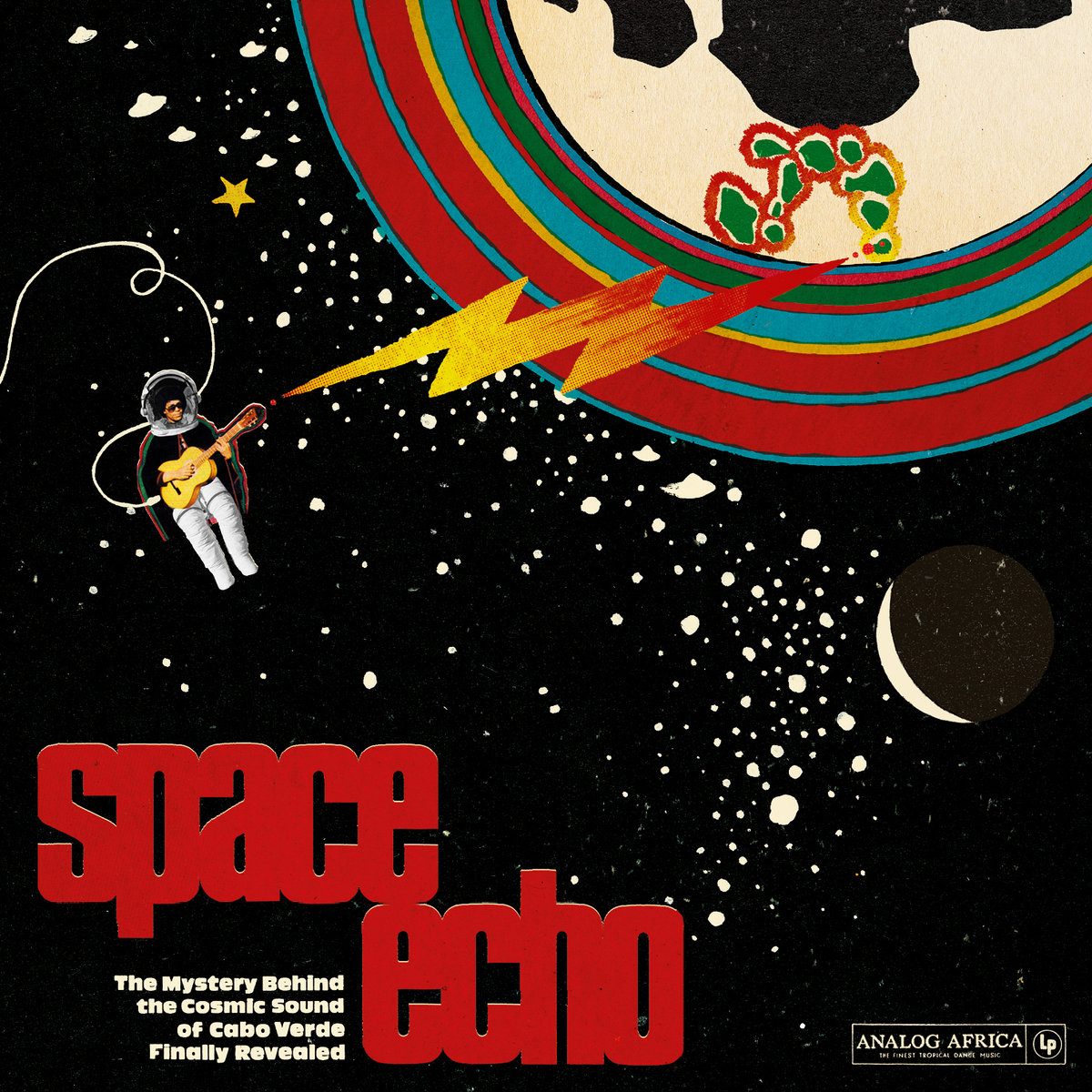 Space Echo - The Mystery Behind the Cosmic Sound of Cabo Verde Finally Revealed  Release Date: June 10, 2016 Label: Analog Africa  SERVICE: Restoration, Mastering SOURCE MATERIAL: Vinyl Records NUMBER OF DISCS: 1 GENRE: Cosmic Afro Funk FORMAT: CD and LP