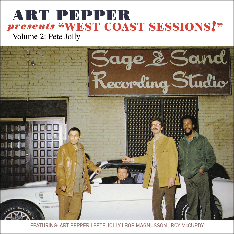 "Art Pepper -Art Pepper Presents ""West Coast Sessions!"" Volume 2: Pete Jolly  Release Date: February 3, 2017 Label: Omnivore Recordings  SERVICE: Restoration, Mastering NUMBER OF DISCS: 1 GENRE: Jazz FORMAT: CD"