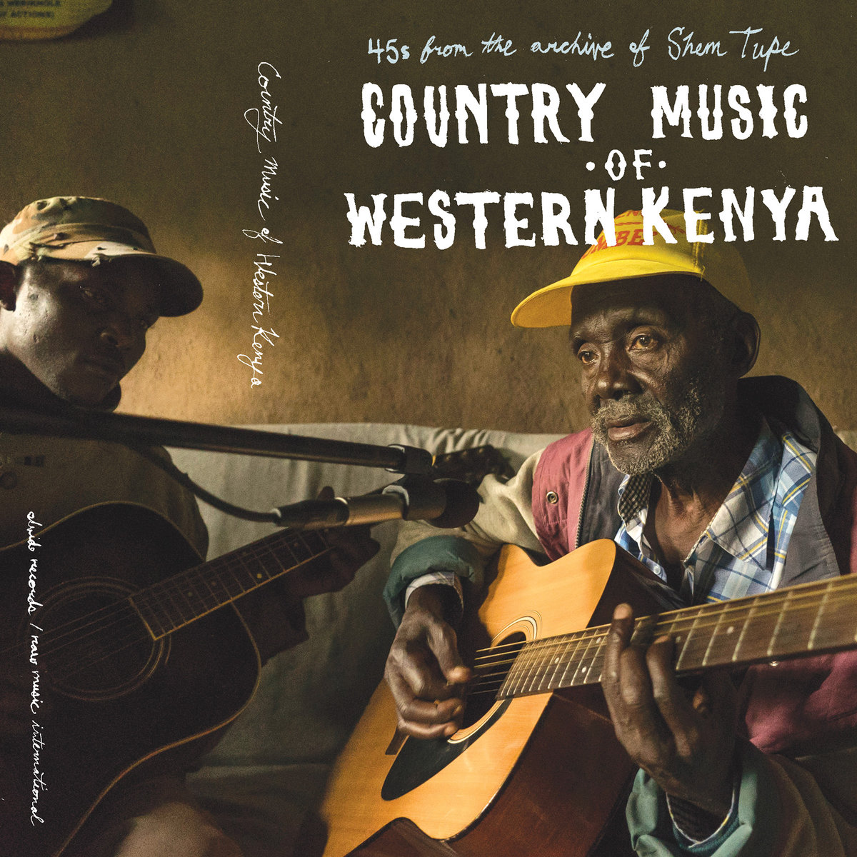 Various Artists - Country Music of Western Kenya: 45s from the archive of Shem Tupe  Release Date: February 19, 2017 Label: Olvido Records  SERVICE: Restoration, Mastering SOURCE MATERIAL: 45 rpm records NUMBER OF Cassettes: 1 GENRE: Kenyian FORMAT: Cassette,Digital