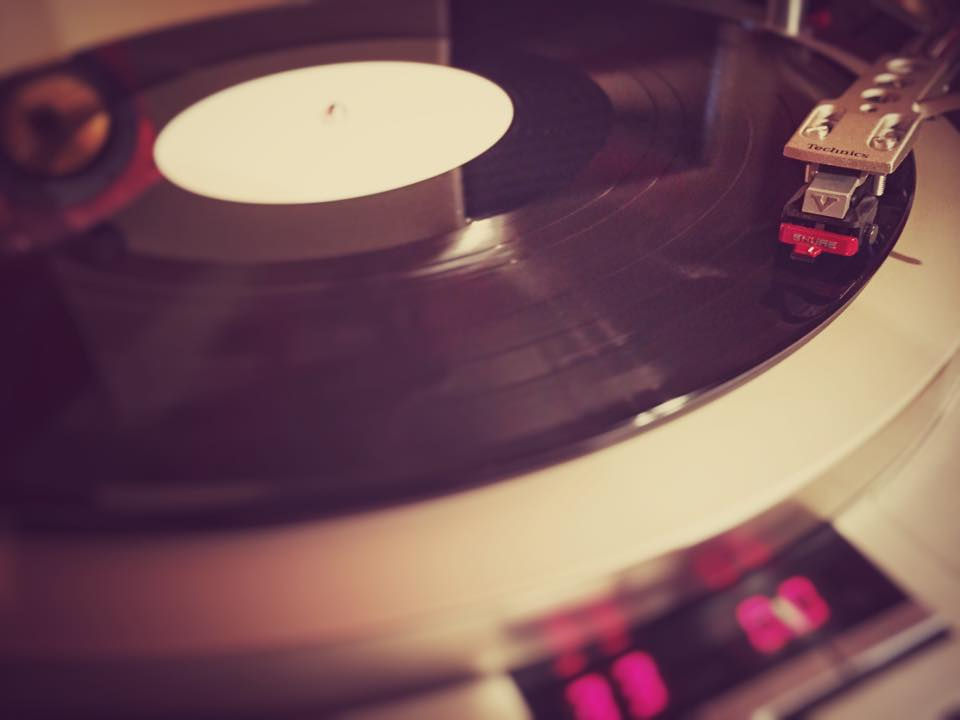 Evaluating a test pressing on my Technics SP-15.
