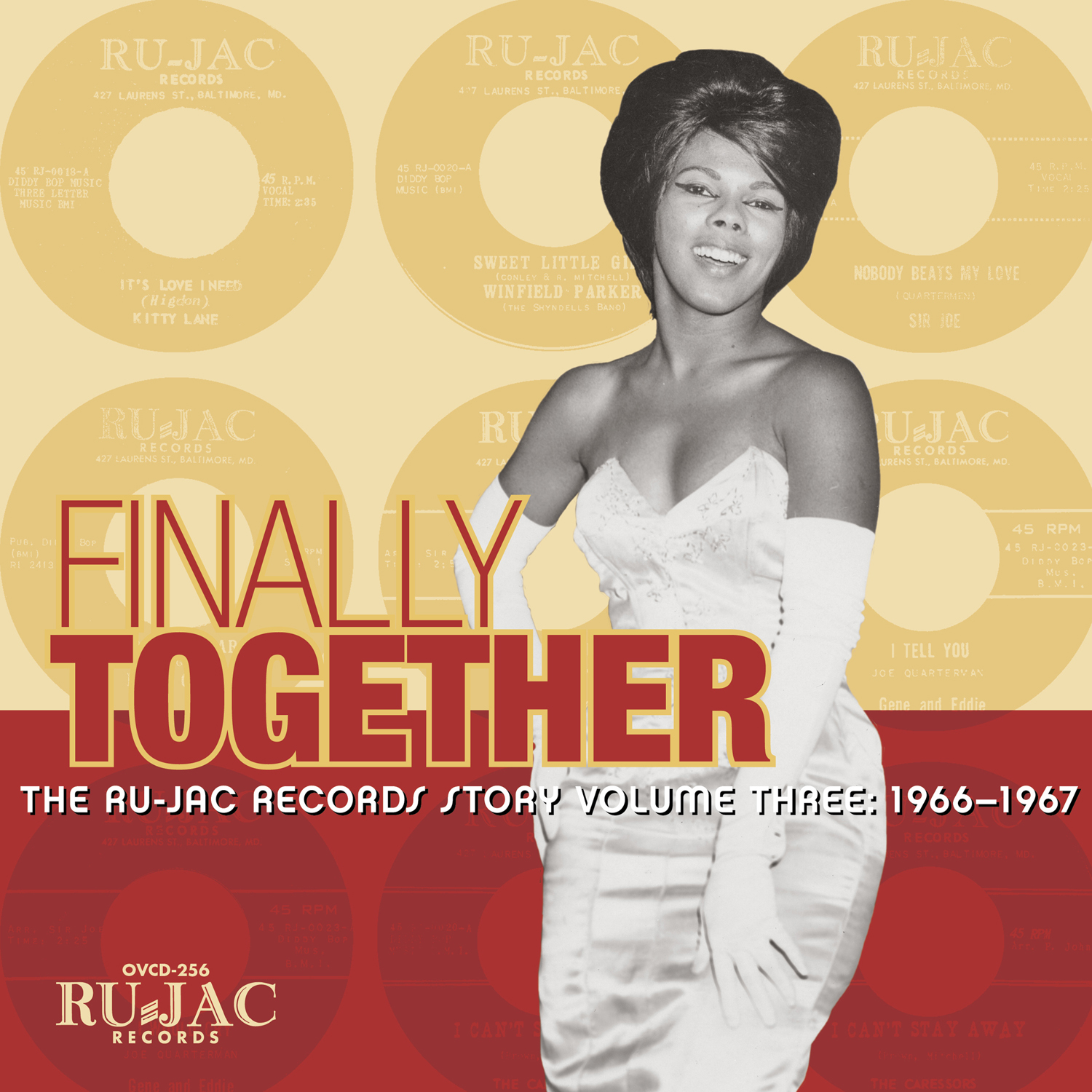 Various Artists -Finally Together: The Ru-Jac Records Story Volume Three: 1966–1967  Release Date: February, 2018 Label: Omnivore Recordings  SERVICE: Restoration, Mastering NUMBER OF DISCS: 1 GENRE: Soul FORMAT: CD