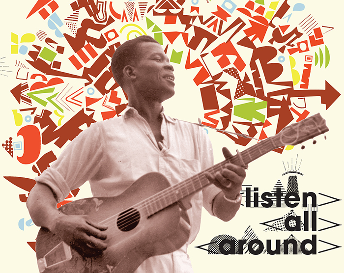 Listen All Around: The Golden Age Of Central And East African Music  Release Date: June 15, 2018 Label: Dust-to-Digital  SERVICE: Restoration, Mastering NUMBER OF DISCS: 2 GENRE: African FORMAT: CD