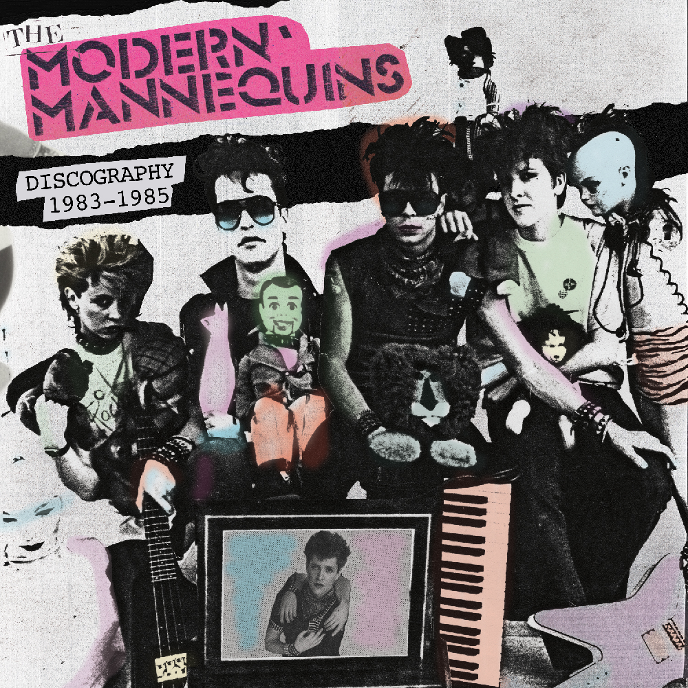 The Modern Mannequins - Discography 1983-1985  Release Date: June 27, 2018 Label: Deanwell Global Music  SERVICE: Restoration, Mastering NUMBER OF DISCS: 1 GENRE: Synth Pop FORMAT: LP
