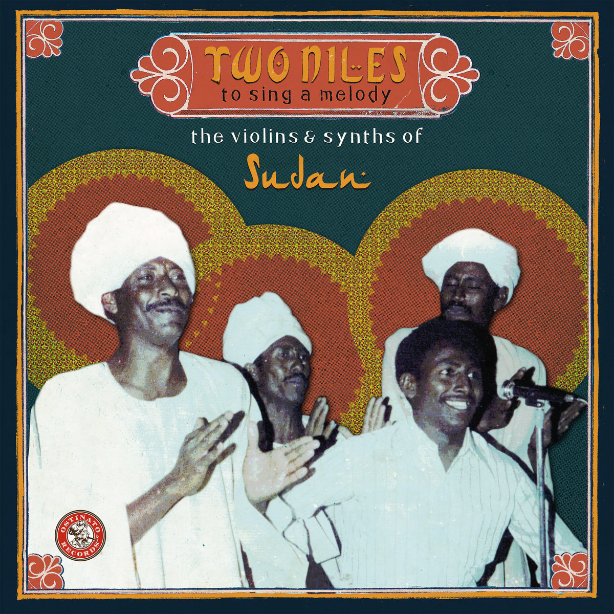 Various Artists - Two Niles to Sing a Melody: The Violins & Synths of Sudan  Release Date: September 14, 2018 Label: Ostinato Records  SERVICE: Mastering, Restoration NUMBER OF DISCS: 2 GENRE: Sudanese FORMAT: CD, LP