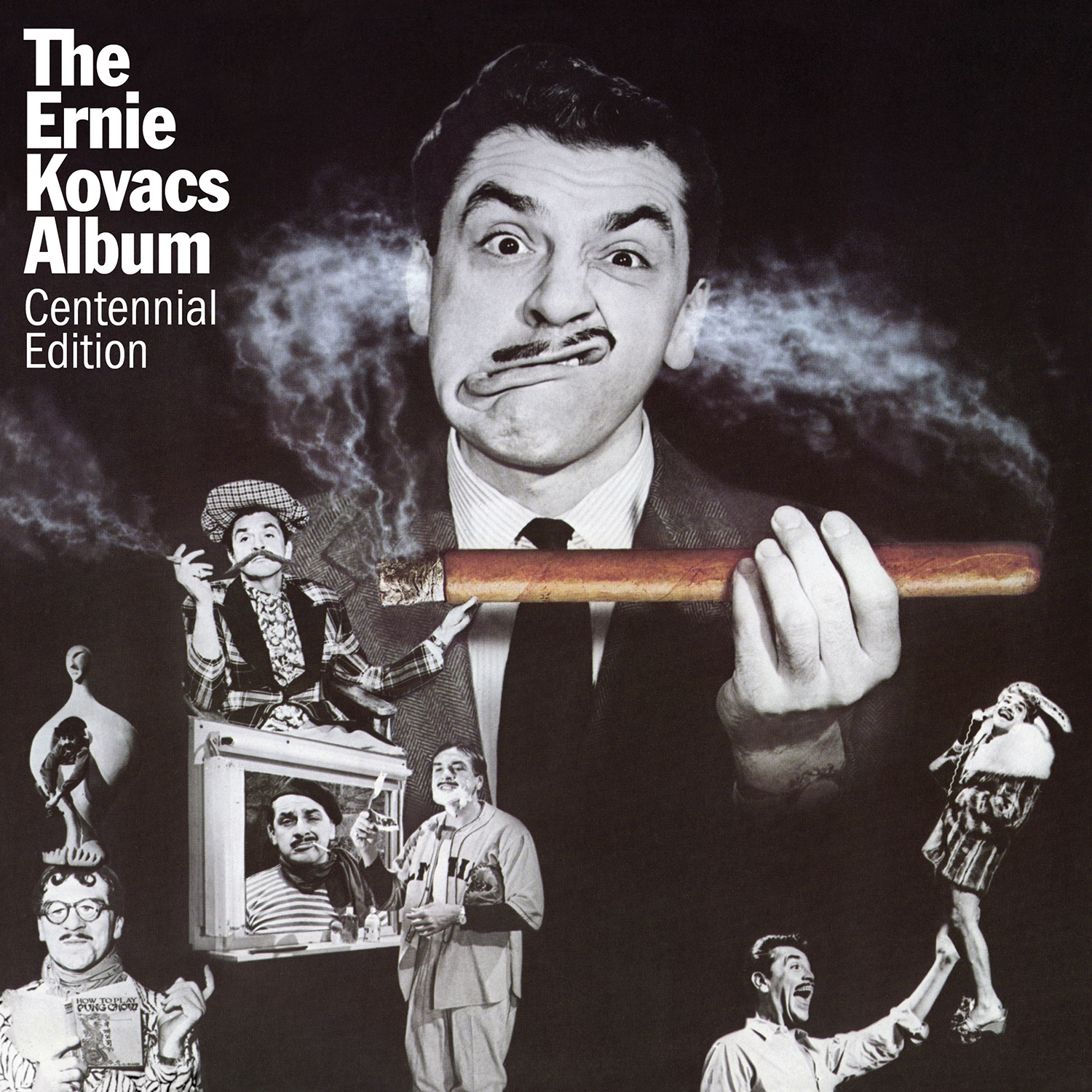 Ernie Kovacs - The Ernie Kovacs Album: Centennial Edition  Release Date: June 7, 2019 Label: Omnivore Recordings  SERVICE: Mastering, Restoration NUMBER OF DISCS: 1 GENRE: Comedy FORMAT: CD
