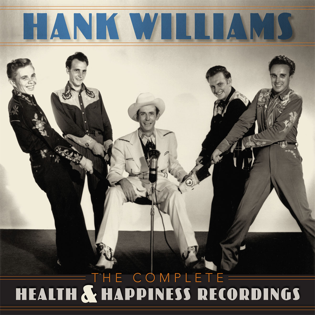 Hank Williams - The Complete Health & Happiness Recordings  Release Date: June 14, 2019 Label: BMG  SERVICE: Mastering, Restoration NUMBER OF DISCS: 2, 3 GENRE: Country FORMAT: CD, LP