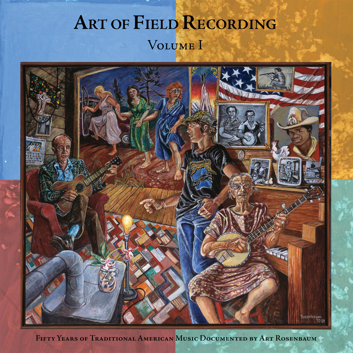 """Art of Field Recording, Vol. I: 50 Years of Traditional American Music Documented by Art Rosenbaum  Release Date: November 06, 2007 Label: Dust-to-Digital  SERVICE: Transfer, Restoration, Mastering SOURCE MATERIAL: 1/4"""" Tape, DAT NUMBER OF DISCS: 4 GENRE: Gospel, Blues, Country FORMAT: CD"""